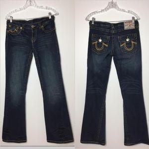 True Religion  Jeans Women's Size 30 Flap Pocket